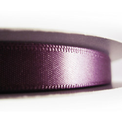 45m lila Satinband 10mm lila Schmuckband - Schmuckzubehör Satinband