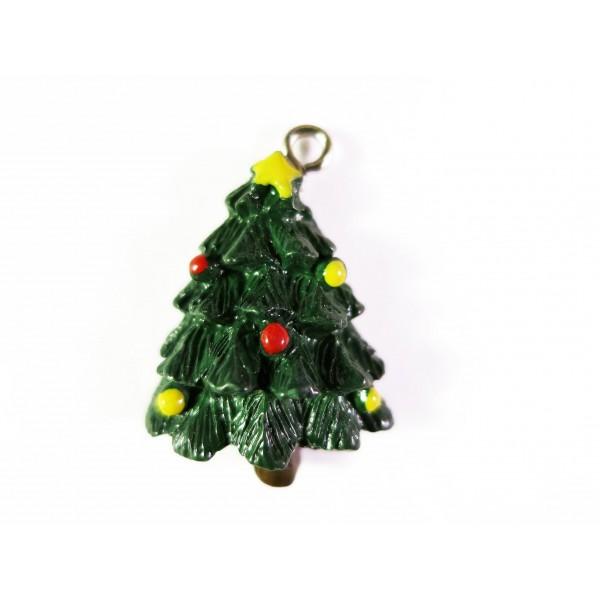 weihnachtsbaum anh nger 28x18mm resin schmuckzubeh r. Black Bedroom Furniture Sets. Home Design Ideas