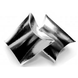 1x silber Fixbox Faltschachtel Schmuckschachtel ca. 12x7cm - Schmuckzubehör Schmuckverpackung
