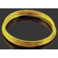 10x Ringe gold Spiraldraht ca. 55mm goldfarben Memory Wire - Schmuckzubehör