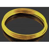 10x Ringe gold Spiraldraht ca. 55mm goldfarben - Schmuckzubehör