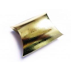 1x gold Fixbox Faltschachtel Schmuckschachtel ca. 12x7cm - Schmuckzubehör Schmuckverpackung