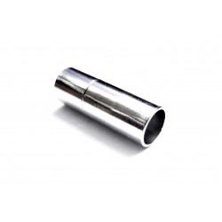 1x silber Steckverschluss 20x7mm silber Einklebverschluss - Schmuckzubehör Schmuckverschluss