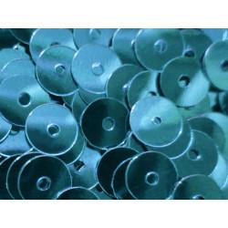 23g blaue Pailletten 5mm runde flache Pailletten - Bastelbedarf