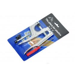 1x KAM Set für Snap Pliers KAM Zange für Größe T-3 T-5 T-8 Plastik Druckknöpfe - Bastelbedarf