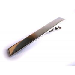 1x silber Haarklammer ca. 56x11mm silberfarbener Rohling für Haarklammern - Haarklemmen selber machen