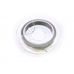 60m Schmuckdraht silberfarben 0,3mm - Schmuckzubehör Schmuckdraht