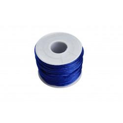 20m blaue Nylonschnur 2mm blaue Perlenschnur Shamballa Schmuckband - Schmuckzubehör