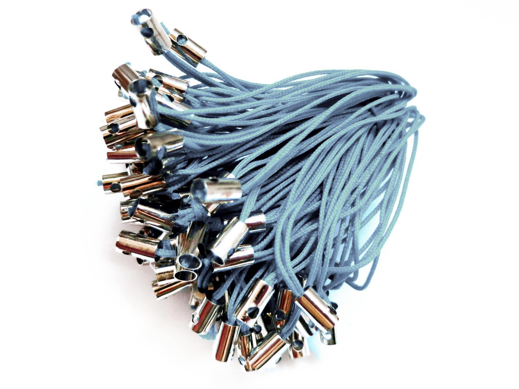 100 hellblaue handyanhänger reissverschluss anhänger handyschnur