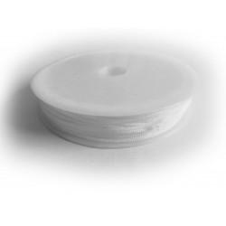 10m weisse Nylonschnur 1mm Schwarze Perlenschnur - Schmuckzubehör