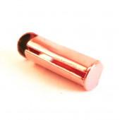 2x rosegold Bandklemme 10mm Perlenband Verbinder Kettenverbinder Chandelierverteiler Einklebhülse - rosegold Schmuckzubehör
