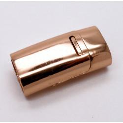1x rosegold Magnet Verschluss 26x13x8mm Innen 10x5mm Verschluss zum Einkleben - rosegold Schmuckzubehör