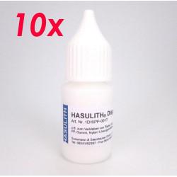 10x HASULITH-P ® 10ml Dispersionskleber lösungsmittelfrei Schmuckkleber Bastelkleber - Schmuckwerkzeug