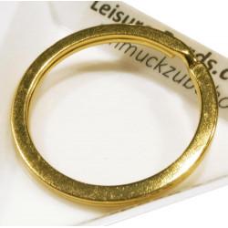 Gold Schlüsselring 35mm goldfarbener Schlüsselring Ring stabil und massiv - Schmuckzubehör