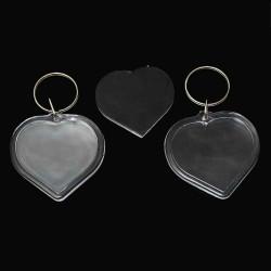 Herz Foto Schlüsselanhänger für Herz Foto - Schlüsselanhänger selber machen