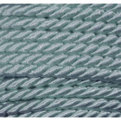 1m hellblaue Kordel 4mm hellblaues Schmuckband - Schmuckzubehör Kordel für Halsband
