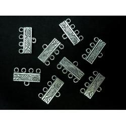 8x Kettenverbinder 10x16mm Kettenverteiler silberfarben