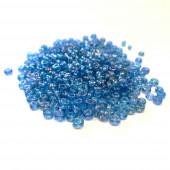 5g blau-AB Rocailles 2mm (12/0) - Schmuckzubehör Rocailles
