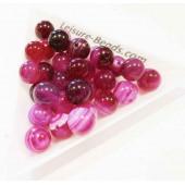 5x Rhodonit Perle 8mm Natursteinperlen - Schmuckzubehör