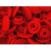 10x Rote KAM Snaps Größe T-5 Größe 20 Plastik Druckknöpfe - Bastelbedarf