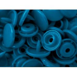 10x Blaue KAM Snaps Größe T-5 Größe 20 Plastik Druckknöpfe - Bastelbedarf