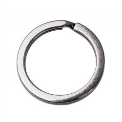 Gunmetal Schlüsselring 25mm Ring gunmetal stabil und schlicht - Schlüsselanhänger selber machen