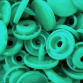 10x Pastellgrün Hellgrüne KAM Snaps Größe T-5 Größe 20 Plastik Druckknöpfe