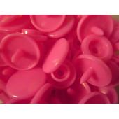10x Pink KAM Snaps Größe T-5 Größe 20 Plastik Druckknöpfe - Bastelbedarf