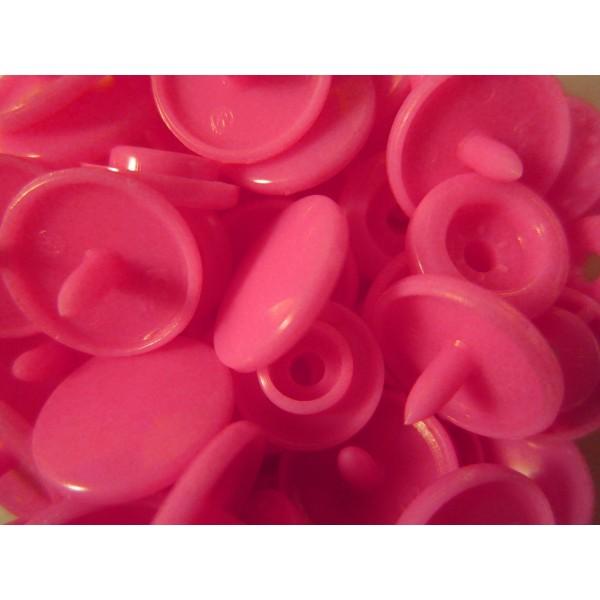 10x pink kam snaps gr e t 5 gr e 20 plastik druckkn pfe. Black Bedroom Furniture Sets. Home Design Ideas