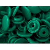 10x Mittelgrüne KAM Snaps Größe T-5 Größe 20 Plastik Druckknöpfe - Bastelbedarf