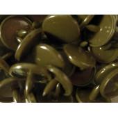 10x bronzefarbene KAM Snaps Größe T-5 Größe 20 Plastik Druckknöpfe - Bastelbedarf