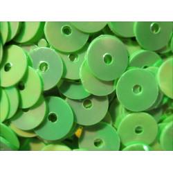 23g hellgrüne holo Pailletten 6mm runde flache Pailletten - Bastelbedarf