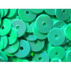23g hell blaugrüne / türkise holo Pailletten 6mm runde flache Pailletten - Bastelbedarf